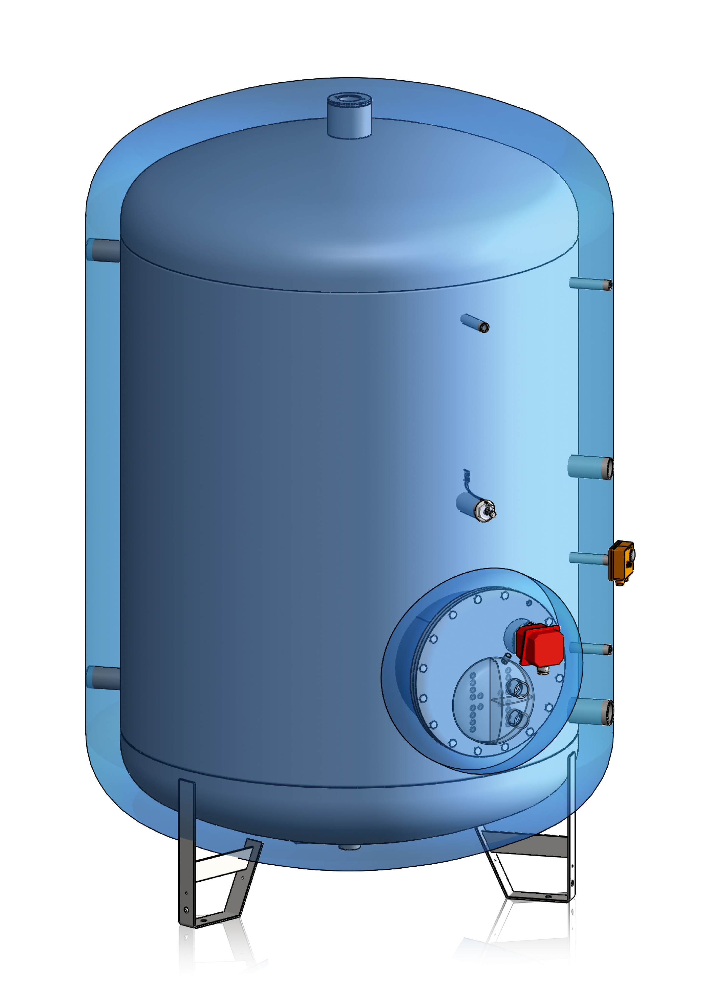 DUAL ENERGY DHW CYLINDER - Lacaze Energies